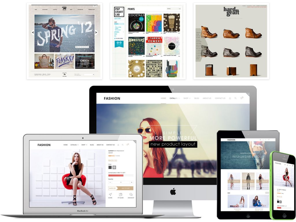 eCommerce Themes and Responsive Shopify
